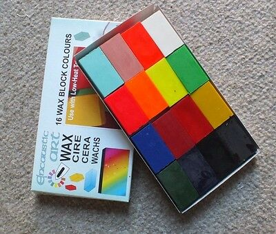 Encaustic Art Wax - Vivid Colour Selection - Brand New in Box