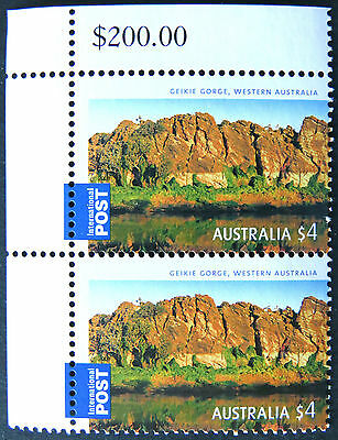 Australian Decimal Stamps: 2008 Gorgeous Aust-International Post - Double MNH
