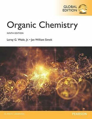 Organic Chemistry 9th by Wade,Simek NEW Global Ed.US Delivery 3-4 bus day/Insure