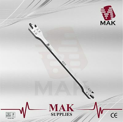 """MAK"" Bracket Height Gauge 022 For Positioning Brackets14.5cm Dental Orthodontic"