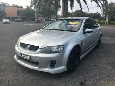 2006 Holden Commodore VE SV6 Silver Automatic 5sp A Sedan