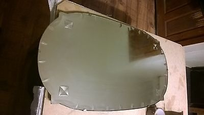1930s? ART DECO? VINTAGE LARGE FRAMELESS BEVELLED EDGE WALL MIRROR