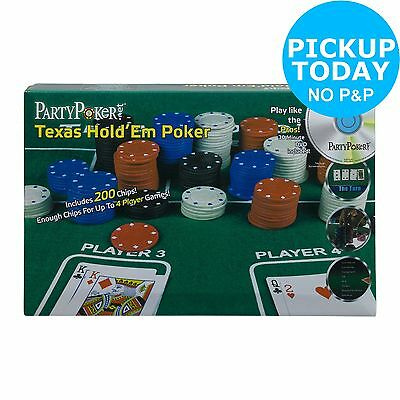 ProPoker Texas Hold'em Poker Set. From the Official Argos Shop on ebay