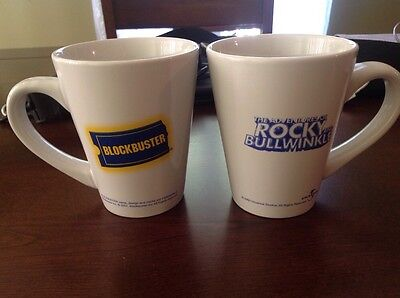 Blockbuster The Adventures Of Rocky And Bullwinkle Coffee Mugs