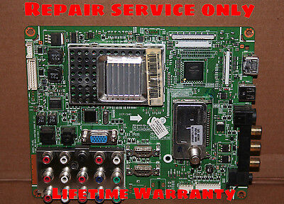 SAMSUNG TV Main Board Repair Service For: LN52A550P3F, Cycling On And Off, :-)