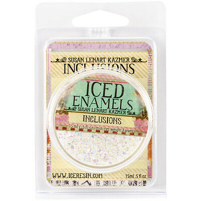 Iced Enamels Inclusions Mica .5oz-Opal