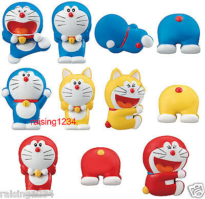 BANDAI Doraemon Figure Memo Holder Clip Gashapon (Set 11 pcs)