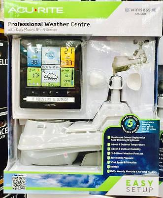 AcuRite Pro 5-in-1 Weather Station with Colour Monitor
