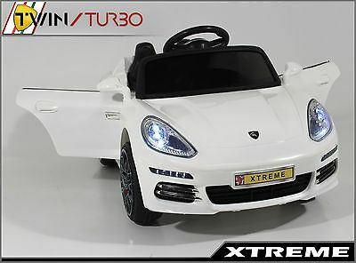 Xtreme 12V White Ride on Range Rover Evoque Style Car Electric Ride On Jeep