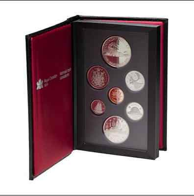 "1986 Canada ""double Dollar"" Proof Set Gem Proof In The Original Packaging W/coa"