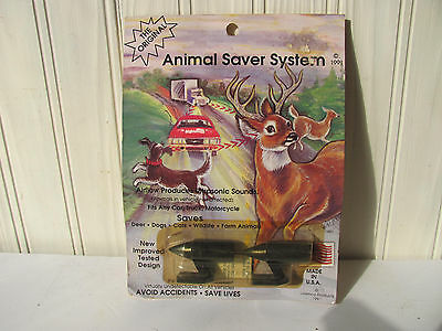 Deer Warning Animal Saver System  Vintage 1991 NOS on Card