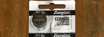 (1pcs)Energizer Batteries ECR1632 CR 1632 3V Lithium Battery 0%HG