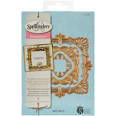 Spellbinders Nestabilities Dies-Savoy Decorative Element