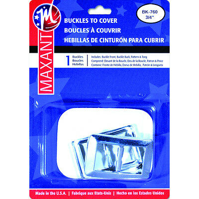 "Buckle Cover Kit-.75"" Rectangle"