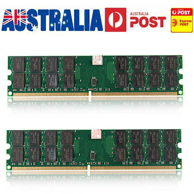 Memory RAM 8 GB 2x4GB DDR2 800Mhz PC2 6400 240 pins Dimm For AMD Motherboard CPU