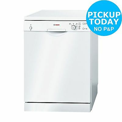 Bosch SMS40C32GB Full Size Dishwasher-White-Free Argos Store Pick Up Today.