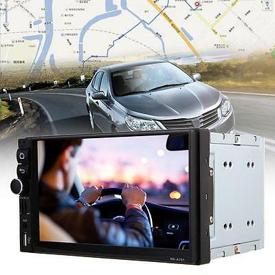"New Android 4.4 Double 2Din HD 7"" Car GPS Navi MP5 MP3 Radio Player Bluetooth"