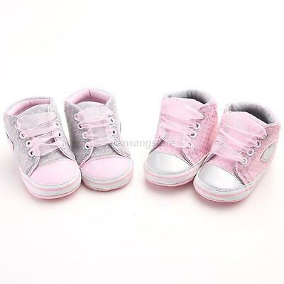 Hot Toddler Baby Boy Girl Kid Infant Soft Sole Shoes Sneaker Newborn 0-18Months