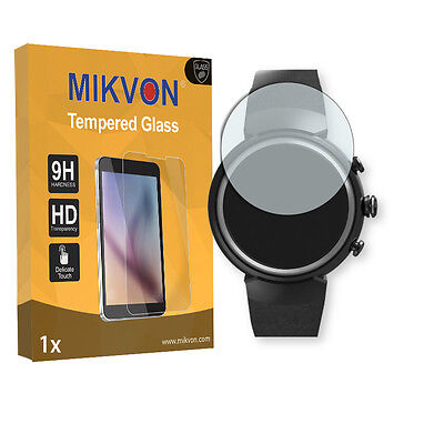 1x Mikvon Tempered Glass 9H for Asus Zenwatch 3 Screen Protector Retail Package