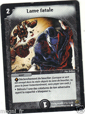 Duel Masters n° 25/55 - Lame fatale  (A3975)