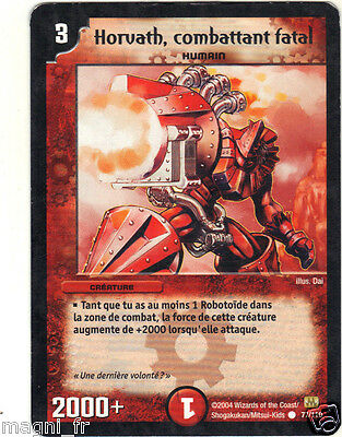 Duel Masters n° 77/110 - Horvath, combattant fatal  (A3981)