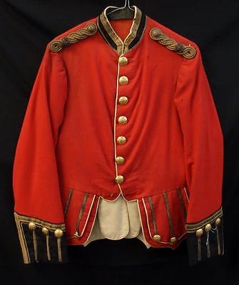 PRE WW1 BRITISH ARMY SCOTTISH 42nd HIGHLANDER'S MAJOR'S DOUBLET UNIFORM JACKET