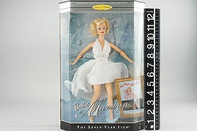 Mattel 17155 Barbie as Marilyn The Seven Year Itch Hollywood Legends 1997 NRFB