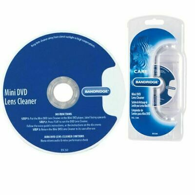 Bandridge Voice Guided Laser Lens Cleaner 8cm Disc for all Mini DVD Camcorders