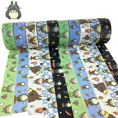 My Neighbor Totoro Washi Tape DIY Paper Maksing Scrapbook Stickers Random Ship