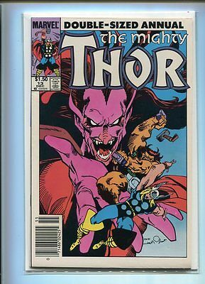 Thor Annual #13 Nm 9.4 Mephisto Cover Canadian Newstand Price Variant