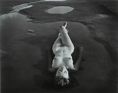 Jock Sturges Original XXL Photo Print 73x67cm Nicole Montalivet France 1997 Nude