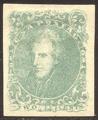 CSA CHOICE #3 Mint w/Cert - 1862 5c Green