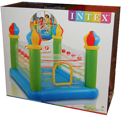 Intex Jump-O-Lene Inflatable Castle Bouncer (3-6 Years)