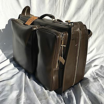 VTG Luggage Huma Suitcase Garment Bag Wings Leather Pacemaker Leather