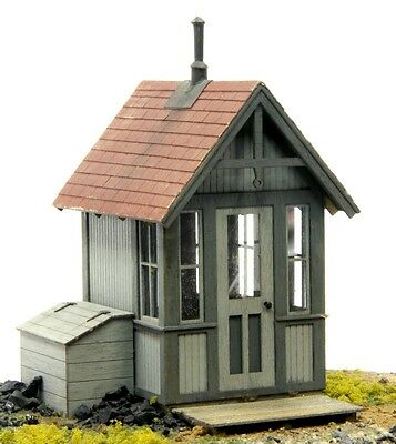 O SCALE On3/On30 BANTA MODEL WORKS #6065 Crossing Shanty