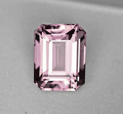 Morganite - Emerald Cut - Light Pink Tone - 2.30 Carats! - Natural and Untreated