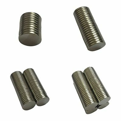 Wholesale 12 mm X 1 mm 100PCS Strong N52 Rare-Earth Neodymium Disc Round Magnets