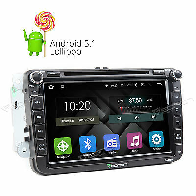US GA6153F for VW Skoda Seat Android 5.1 Car DVD Player GPS Navigation WiFi-3G L