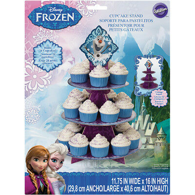 "Treat Stand-Frozen 11.75""X16"" Holds 24 Cupcakes"