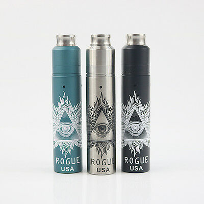 Rogue 18650 mechanical mod with RDA tank Fast shipping