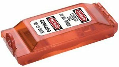 Master Lock 496b Wall Switch Cover Safety Lockout - Red (496B)