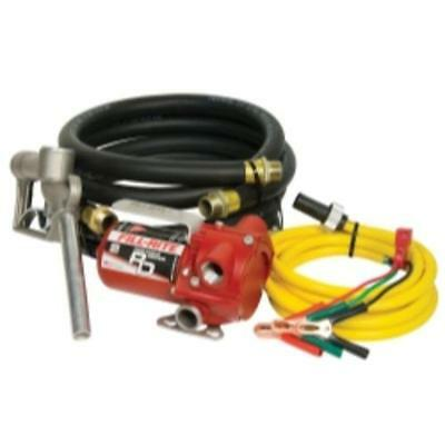 Tuthill Transfer RD812NH 12v Dc Portable Pump With Hose And Nozzle