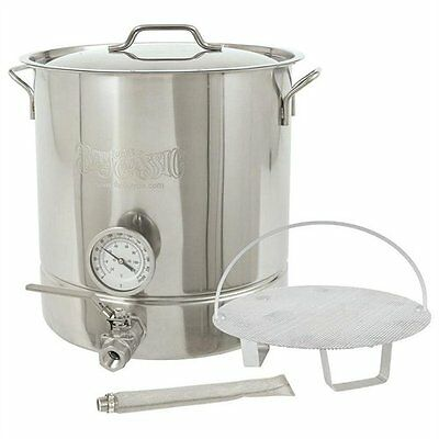 Bayou Classic 800-416 Cookware - 64 Quart Kettle - Stainless - Cooking, Brewing,