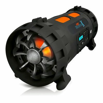 Pyle Street Blaster Pbmspg200 Speaker System - 1000 W Rms - Battery Rechargeable