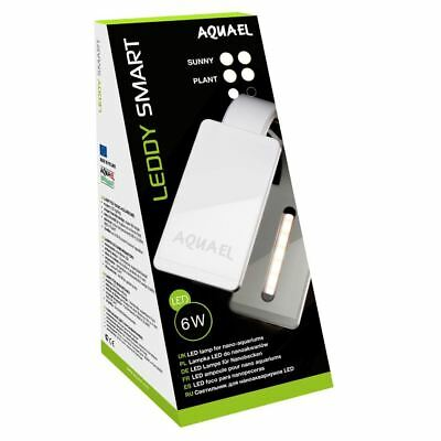 Aquael Leddy Tube 6 Watt Smart Sunny Aquarium Light Unit (Black)