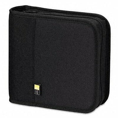 Case Logic Bnb-24 Cd/dvd Binder - Nylon - Black - 24 Cd/dvd (BNB24)