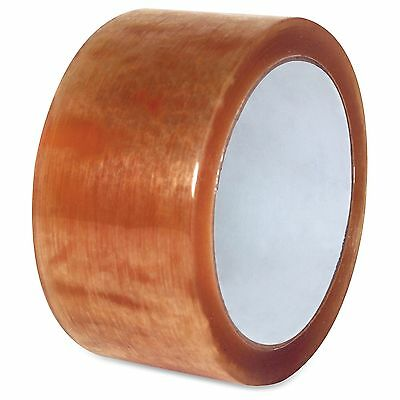 "Sparco Natural Rubber Carton Sealing Tape - 2"" Width X 55 Yd Length - Natural"