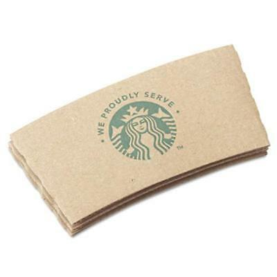 Starbucks 11020575 Cup Sleeves, For 12/16/20 Oz Hot Cups, Kraft, 1380/carton
