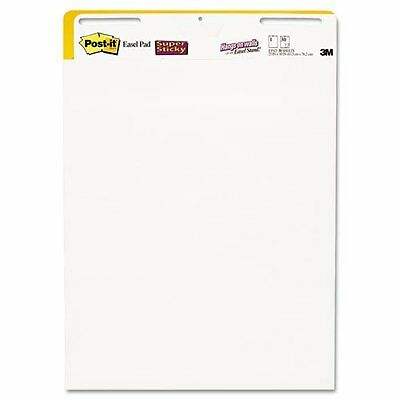 "Post-it Super Sticky Easel Pad - 25"" X 30"" - 1 Pack - White Paper (559STB)"