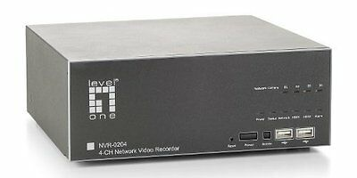 LevelOne NVR-0204 Network Video Recorder 4-CH - CP Technologies (nvr0204)
